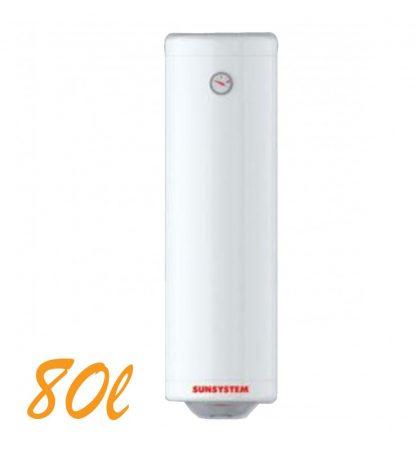 Bojler, Elektromos Vízmelegítő, Villanybojler 80 liter SLIM, 2kW fűtőbetét, 355mm átmérő, fali kivitel