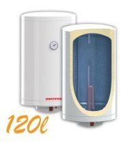 Bojler, Elektromos Vízmelegítő, Villanybojler 120 liter, 3kW fűtőbetét, 440mm átmérő, fali kivitel