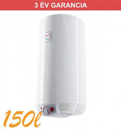 Indirekt melegvíz tároló 150l, 1 hőcserélős HMV tároló, fali kivitel