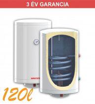 Indirekt melegvíz tároló 120l, 1 hőcserélő, 520mm átmérő, 2kW fűtőbetét, fali kivitel