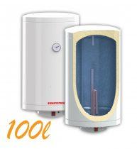 Bojler, Elektromos Vízmelegítő, Villanybojler 100 liter, 3kW fűtőbetét, 440mm átmérő, fali kivitel