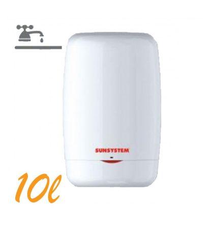 Bojler, Átfolyós vízmelegítő, 10 liter, 1.2kW fűtőbetét, mosogató feletti kivitel