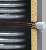 Elektromos fűtőbetét 4.5 kW + termosztát álló kivitelű indirekt melegvíz tárolókhoz és fűtési puffer tartályokhoz