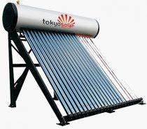 Vákuumcsöves nyomásos napkollektor rendszer 150 literes tartállyal - Tokyo Solar IP01/15 vízmelegítő